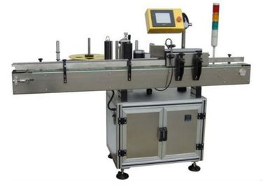 Cina Sticker Electric Automatic Labeling Machine 580W For Small Round Oval Bottles pemasok