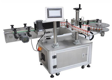 Cina 800W Automatic Drinking Water Bottle Labeling Machine 25M / Min pemasok