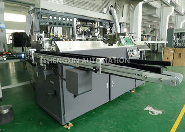 Cina Auto Baby Bottle Screen Printing Machinery With UV Curing / Air Drying pemasok