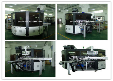 Cina PLC System Automatic Screen Printing Machine / Screen Printing On Bottles pemasok