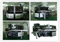 Cina PLC System Automatic Screen Printing Machine / Screen Printing On Bottles distributor