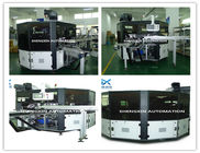 Terbaik Flat Bed Silk Automatic Screen Printing Machine Turntable Type for sale